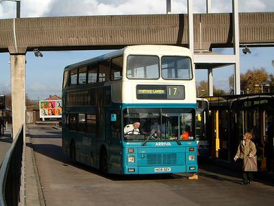 Arriva Man 3108 Altrincham 1 Nov 03