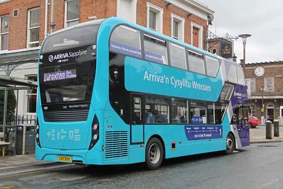 Arriva Cymru 1001 City Road Chester 2 Sep 17