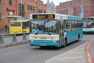 Arriva Merseyside 2236 Hood Street Liverpool Apr 14