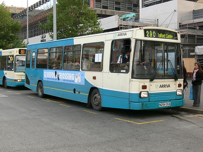 Arriva Man 1254 Picadilly Bus Stn Mcr Oct 06