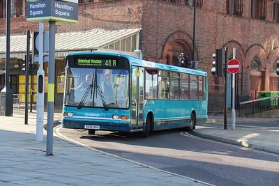Arriva Merseyside 2458 Hamilton Square Birkenhead Oct 11