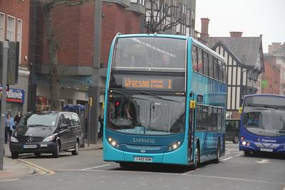 Arriva Cymru 4404 Foregate St Chester Apr 14