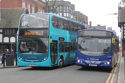 Arriva Cymru 4404_Stagecoach in Chester 21273 Foregate St Chester Apr 14