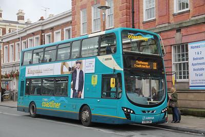 Arriva Cymru 4484 Station Road Chester Sep 17