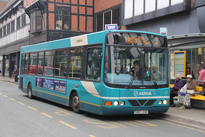 Arriva Cymru 2637 Foregate St Chester Apr 14