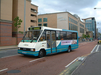 Arriva SW 0219 Killermont St Glas Jun 03