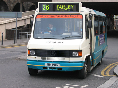 Arriva SW 0267 Central Rd Paisley Apr 05