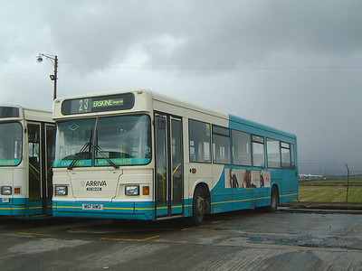 Arriva SW 0517 Inchinnan Depot Mar 02