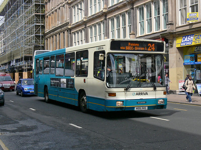 Arriva SW 0255 Union St Glas Jun 09