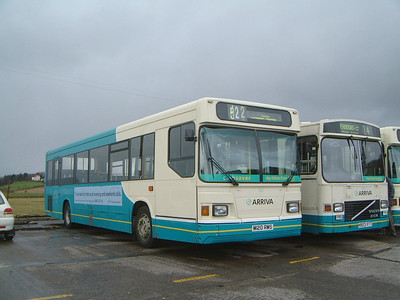 Arriva SW 0520 Inchinna Depot Mar 02