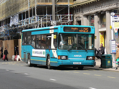 Arriva SW 0258 Union St Glas Jun 09
