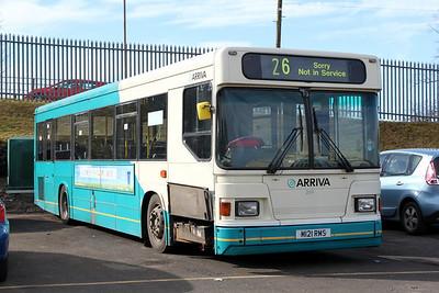 Arriva SW 0269 Johnstone Depot Mar 10