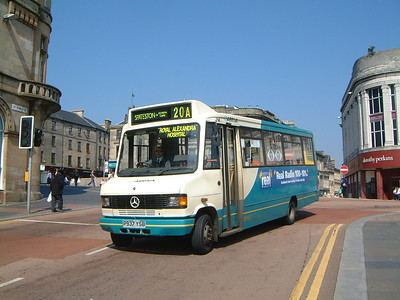Arriva SW 0273 St Mirren Brae Paisley May 04
