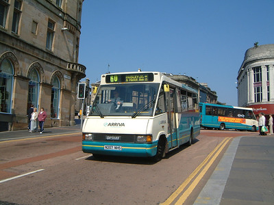 Arriva SW 0207 St Mirren Brae Paisley May 04