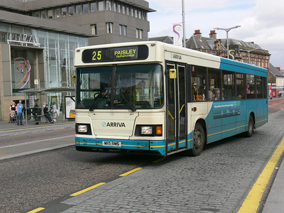 Arriva SW 0263 Gauze St Paisley Sep 09