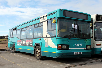 Arriva SW 0257 Inchinnan Depot Mar 10