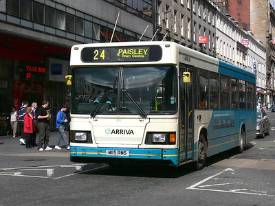 Arriva SW 0263 Union St Glas Sep 09