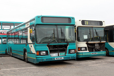 Arriva SW 0258_262 Inchinnan Depot Mar 11