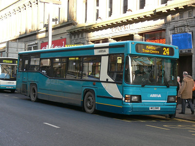 Arriva SW 0261 Union St Glas Dec 08