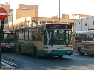 Arriva SW 0254 Renfrew St Glas Dec 08