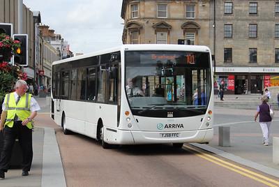 Arriva SW 0004 Gauze St Paisley 1 Jul 11