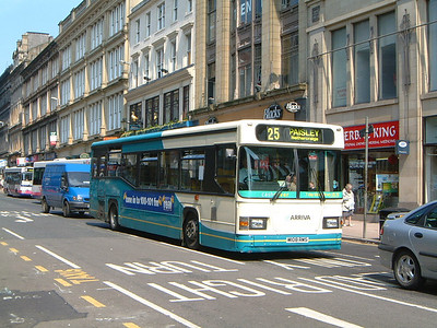 Arriva SW 0508 Union St Glas  Aug 02