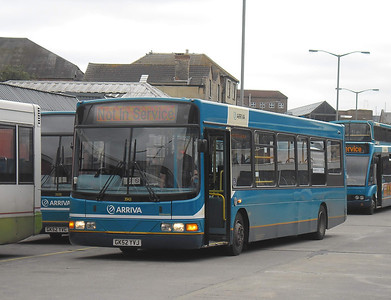 3943 - GX52YVJ - Guildford (Friary bus station) - 16.8.11