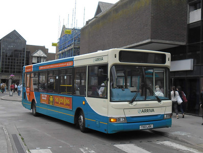 3110 - T110LKK - Guildford (Friary bus station) - 16.8.11