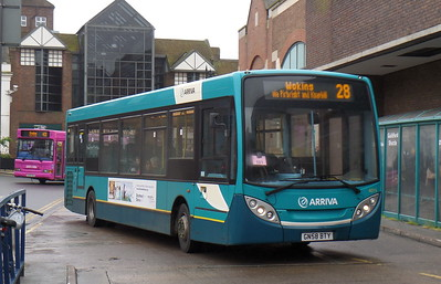 4015 - GN58BTY - Guildford (bus station)