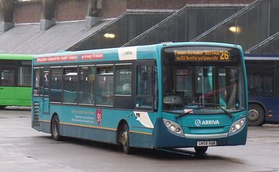 4017 - GN58BUA - Guildford (bus station)
