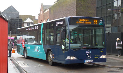 3903 - BX56VTW - Guildford (bus station)