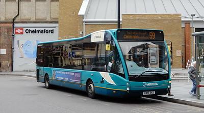 4238 - KX13DHJ - Chelmsford (railway station)