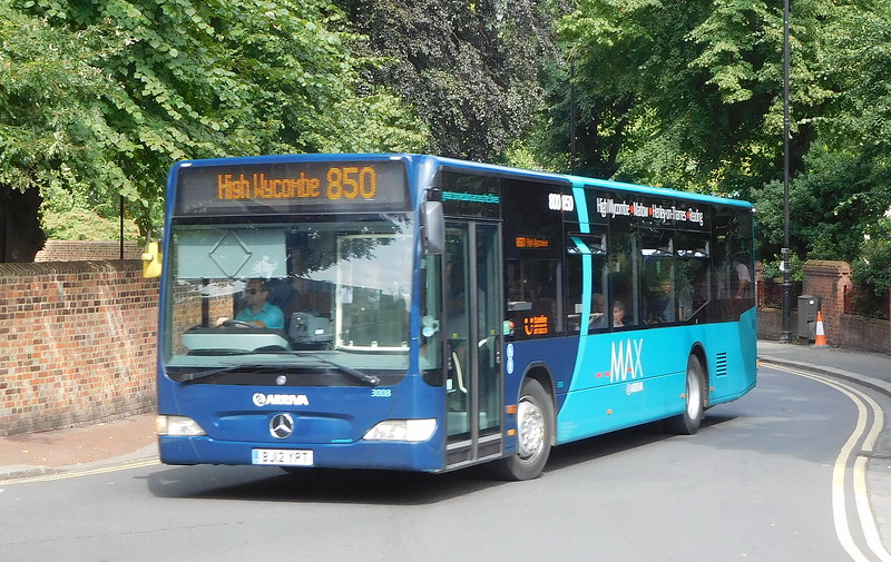 3008 - BJ12YPT - Reading (the Forbury)