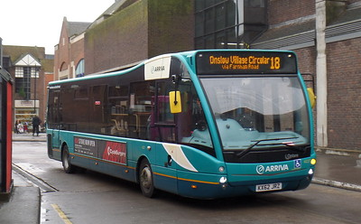 4227 - KX62JRZ - Guildford (bus station)