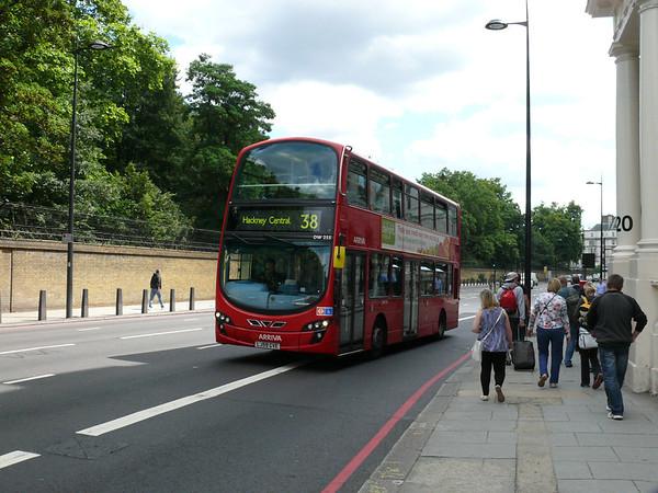 Arriva London DW255 110722 London