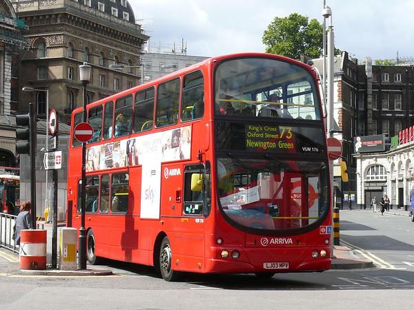 Arriva London VLW176 110905 Victoria