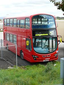 Arriva London DW230 090916 Fleetwood