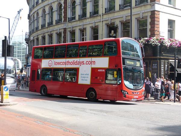 Arriva London DW247 130821 Victoria