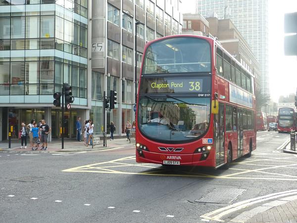 Arriva London DW217 130905 High Holborn