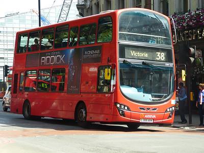 Arriva London DW227 130821 Victoria