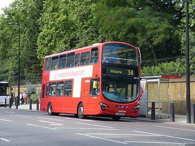 Arriva London DW237 130821 Grosvenor Place