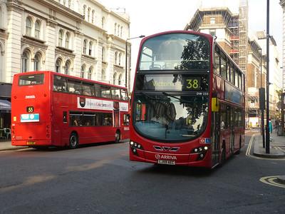 Arriva London DW233 130905 High Holborn