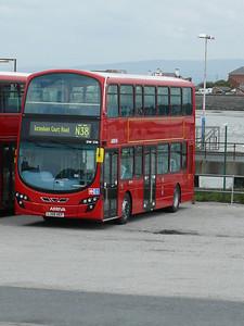 Arriva London DW236 090916 Fleetwood