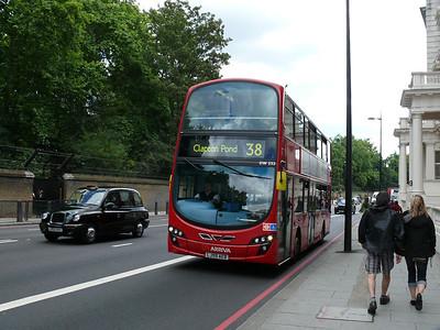 Arriva London DW232 110722 London