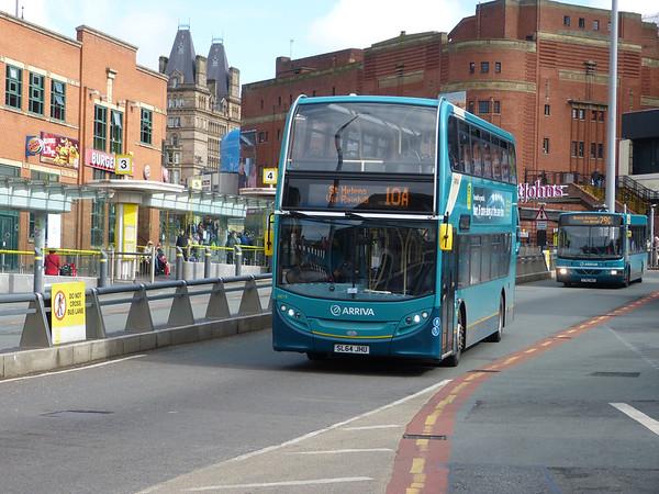 Arriva North West 4619 150324 Liverpool