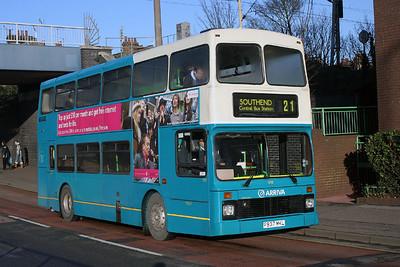 5937-P937 MKL at Southend.