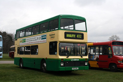 5929-P929 MKL at Detling Bus Rally.