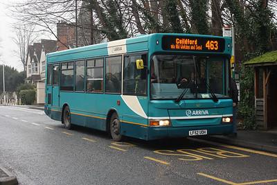 1627-LF52 UOH on the Epsom Road, Merrow.