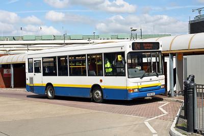 1559-EU56 GVG at Heathrow Central Bus Station