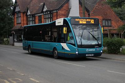 4213-KX61 FHN on the Billingshurst Road, Broadbridge Heath.